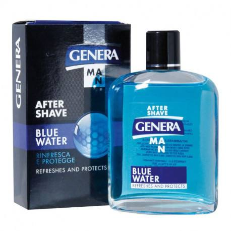 Genera After shave cu alcool Blue Water, 100 ml