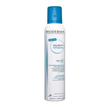 Bioderma Atoderm SOS Spray, 200 ml