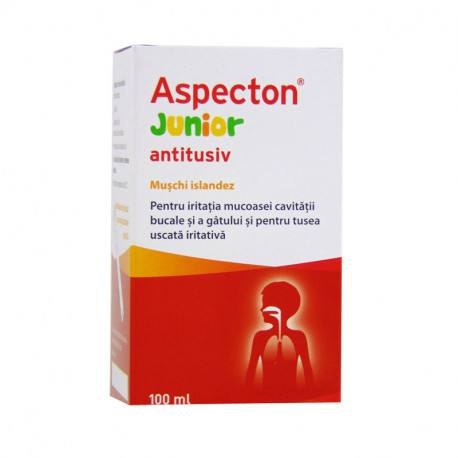 Aspecton Junior antitusiv, 100 ml lichid oral