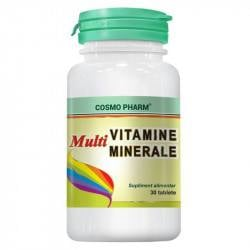 Cosmo Multivitamine si multiminerale, 30 tablete