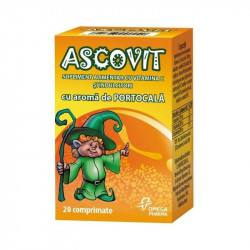Ascovit 100 mg orange, 60 comprimate
