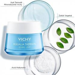 VICHY AQUALIA THERMAL LEGERE ten normal-mixt, 50 ml