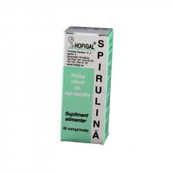 HOFIGAL Spirulina 200 mg, 40 tablete