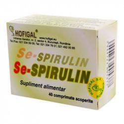 HOFIGAL Se-Spirulin, 40 tablete