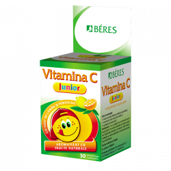 Beres Vitamina C junior, 30 capsule masticabile