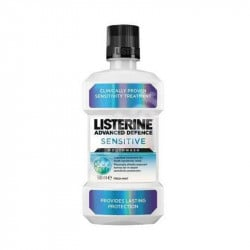Listerine apa de gura Advanced Defence Sensitive, 500 ml