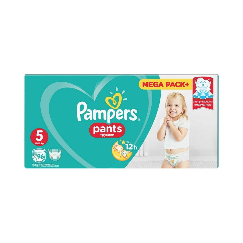 Scutece-chilotel Pampers Pants Active Baby 12-17 kg, marimea 5, 96 bucati