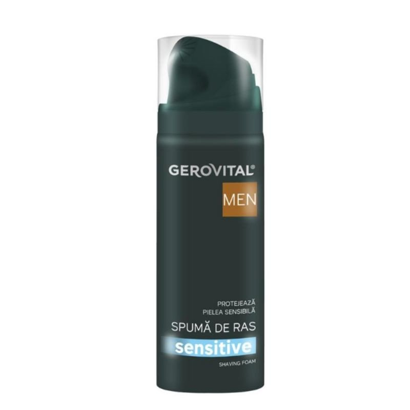 37740 GH3 Men Spuma ras Sensitive, 200 ml