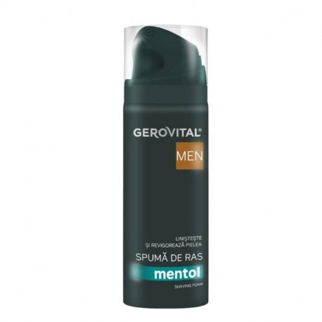 GH3 Men Spuma ras Mentol 37750, 200 ml