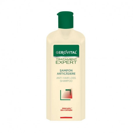 Gerovital Tratament Expert Sampon anticadere, 250 ml