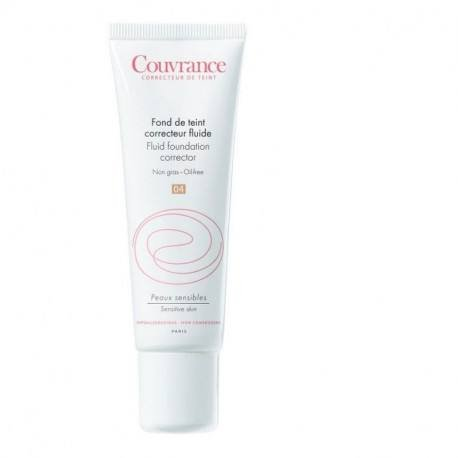 Avene Couvrance fond de ten fluid miere-04, 30 ml