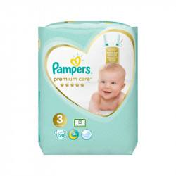 Pampers nr. 3 Premium Care Midi 6-10 kg, 20 bucati
