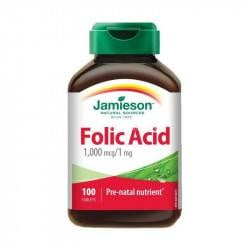 Jamieson Acid folic 1 mg, 100 tablete