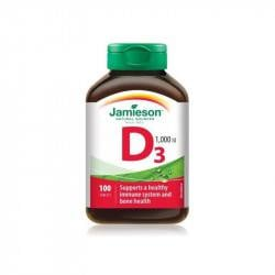 Jamieson Vitamina D3 1000 UI, 100 tablete