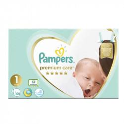 Pampers nr 1, Premium Care, 2-5 kg, 108 bucati