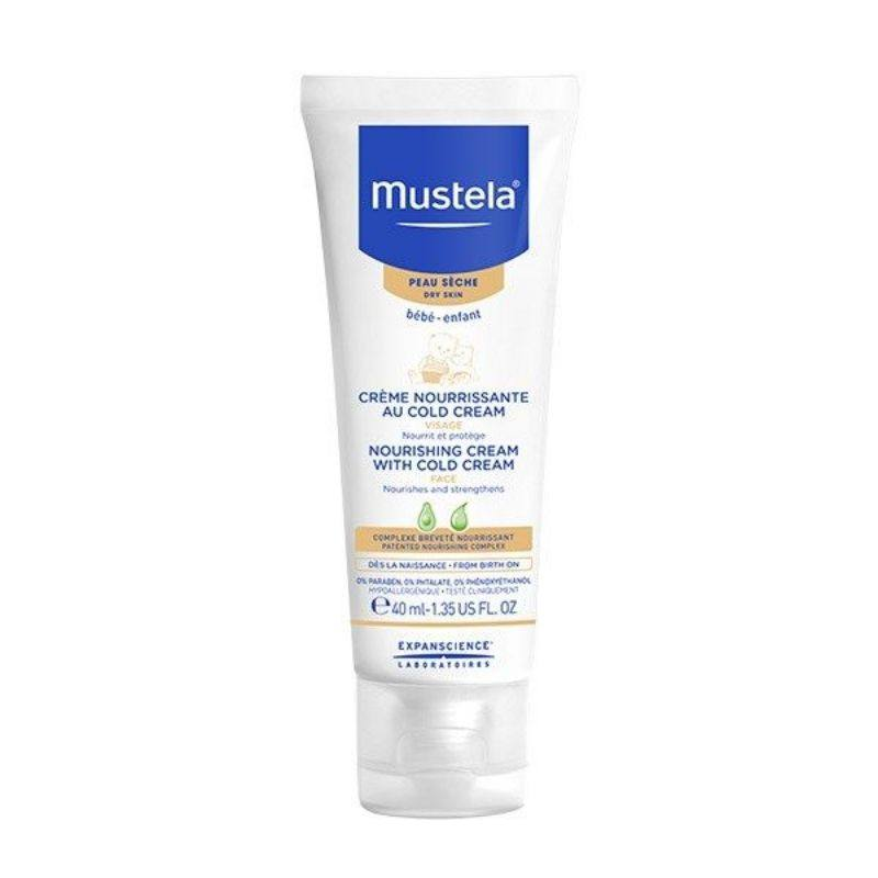 Mustela Crema nutritiva cu cold cream, 40 ml