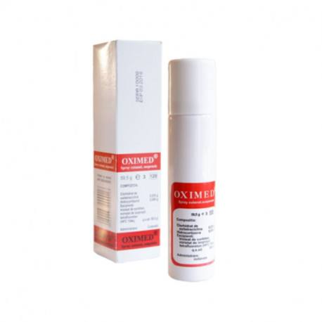 Oximed spray, 59.5 g MEBRA