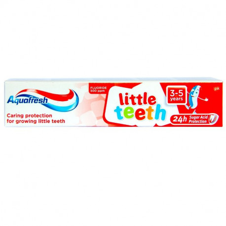 Aquafresh pasta dinti Little Teeth 50 ml