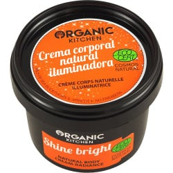 Organic Kitchen Shine Bright Crema de corp ilumintoare 100 ml