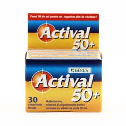 Actival 50+, 30 tablete