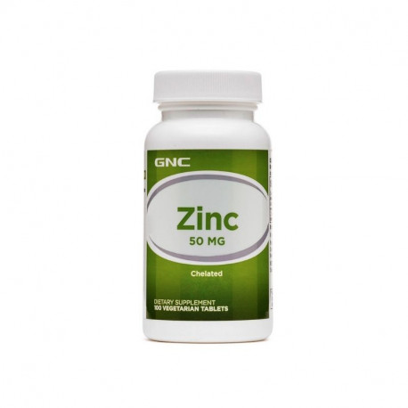 GNC Zinc Chelat 50 mg, 100 tablete