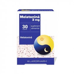 Melatonina 3mg , 30 capsule
