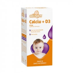 Alinan Calciu + D3, 150 ml sirop