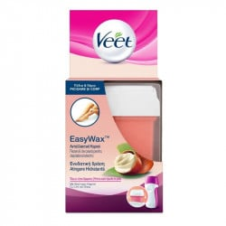 Veet Easy Wax rexerva ceara roll-on cu unt de shea, 50 ml