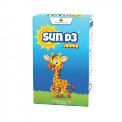 Sun-D3 junior picaturi, 10 ml