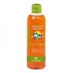 Rivadouce Junior Sampon si Gel Dus Miere si Fructe exotice, 500ml
