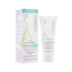 A-Derma Phys-AC Crema Global Severe Blemish Care, 40 ml