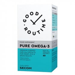 Secom Good Routine Pure Omega-3, 60 capsule
