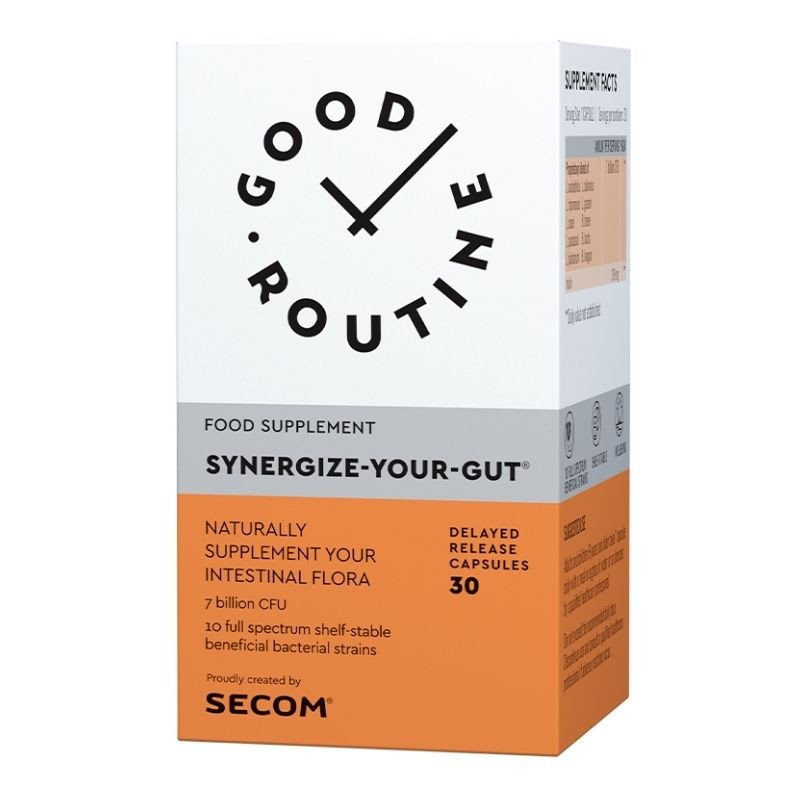 Secom Good Routine Synergize Your Gut, 30 capsule