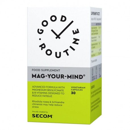 Secom Good Routine Mag Your Mind, 30 capsule