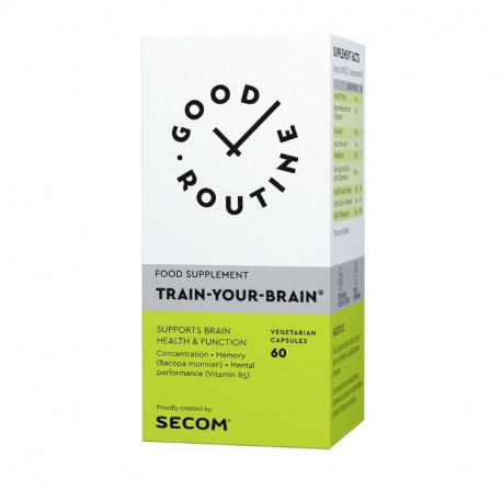 Secom Good Routine Train Your Brain, 60 capsule