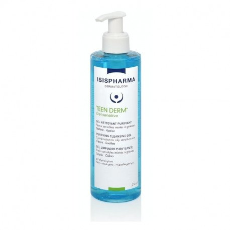 Isis - Teen Derm Gel sensitive de curatare, 250ml