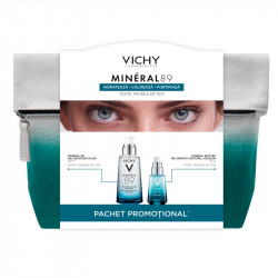 VICHY Mineral 89 Gel Booster, 50ml + Mineral 89 Gel de ochi, 15 ml -75%