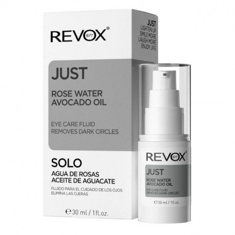Revox Just Rose Water fluid ingrijire ochi, 30ml