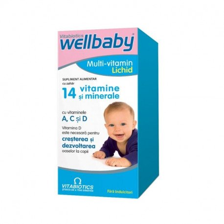 WellBaby Multivitamine Sirop, 150 ml