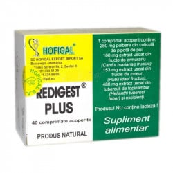 HOFIGAL Redigest plus, 40 comprimate