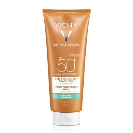 VICHY CAPITAL SOLEIL Lapte Hidratant SPF50+, 300ml