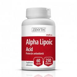 Alpha Lipoic Acid 250 mg x 60 cps.
