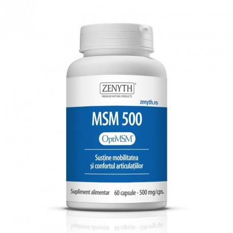 MSM 500 500mg, 60cps.