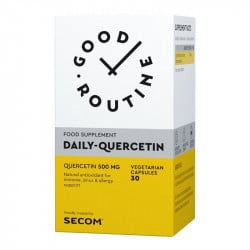 Secom Good Routine Daily Quercetin 500mg, 30 capsule