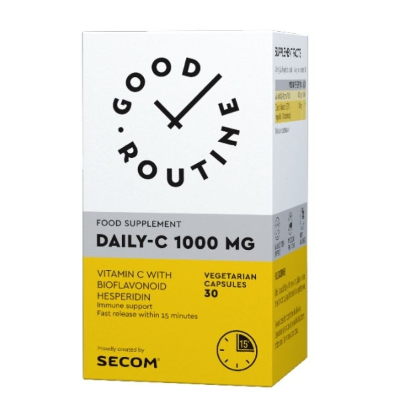 Secom Good Routine Daily-C 1000 mg, 30 capsule