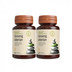 Alevia Ginseng siberian 250mg pachet 30 comprimate+30comprimate