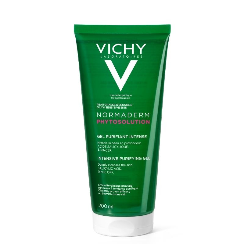 Vichy Normaderm  Phytosolution gel curatare, 200 ml