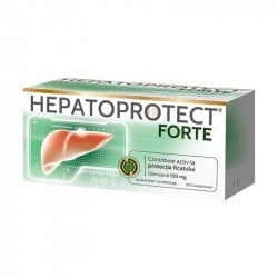 Hepatoprotect Forte 150mg, 50 comprimate