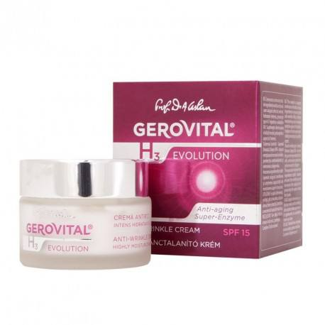 Gerovital H3 Evolution Crema antirid FP10, 50ml
