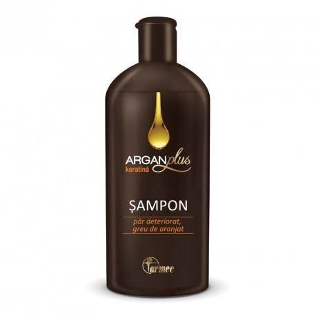 3510 Argan Plus sampon cu Keratina, 250ml